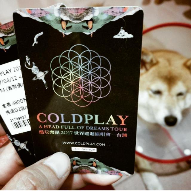 降價賣!!!!  Coldplay 4/12演唱會門票