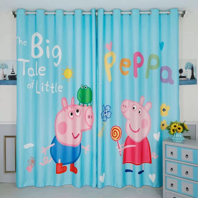 Customised Peppa Pig Curtain Furniture Others On Carousell