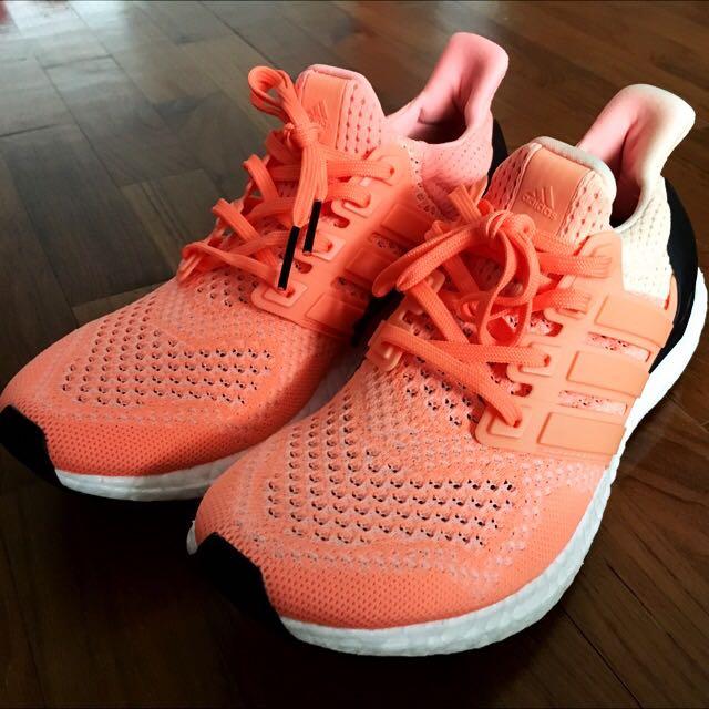 huge selection of 4f194 8b981 Adidas Ultra Boost W Flash Orange UK6US7.5, Mens Fashion, Footwear on  Carousell