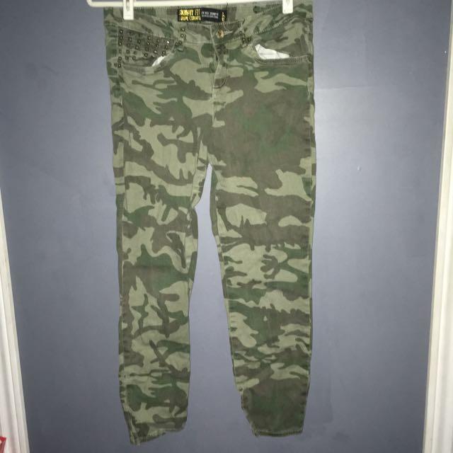 Army Skinny Jeans