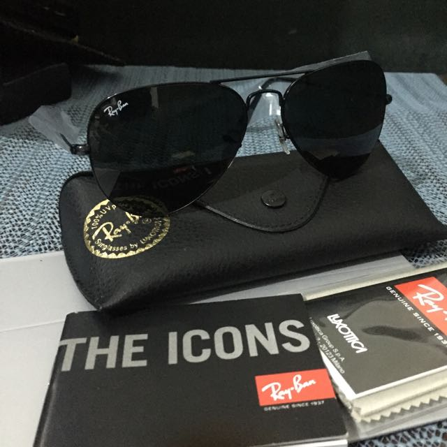 Authentic Ray-ban Aviator Black