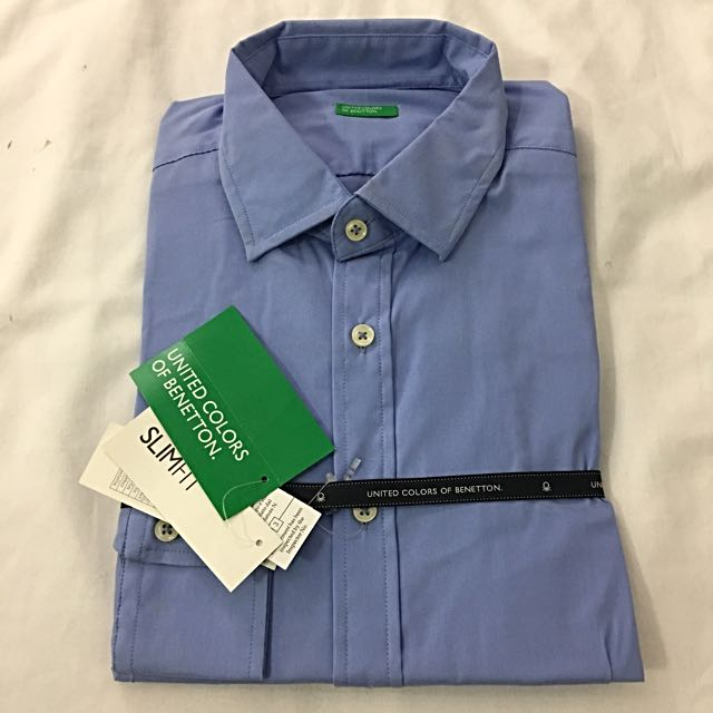 《全新降價💁🏻♂️》Benetton商務襯衫 sizeM