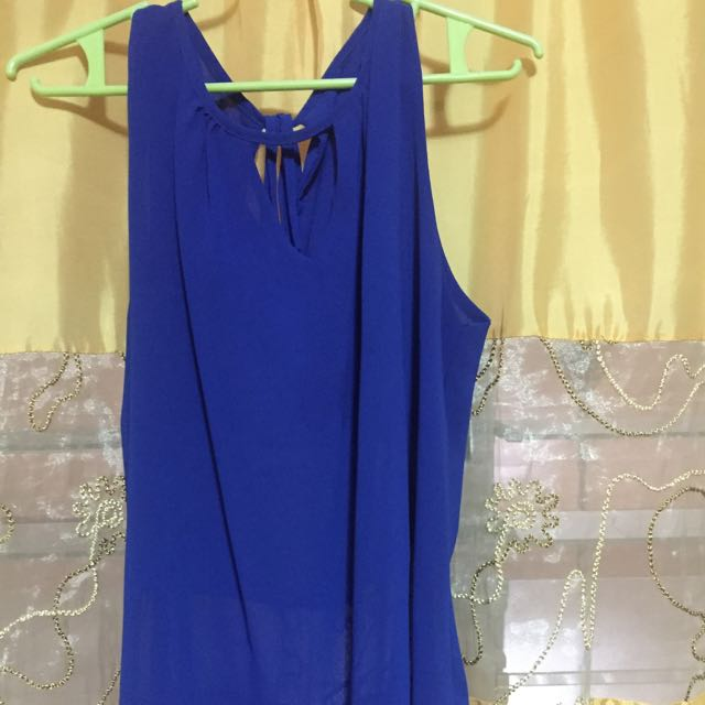 Blouse (Royal Blue)