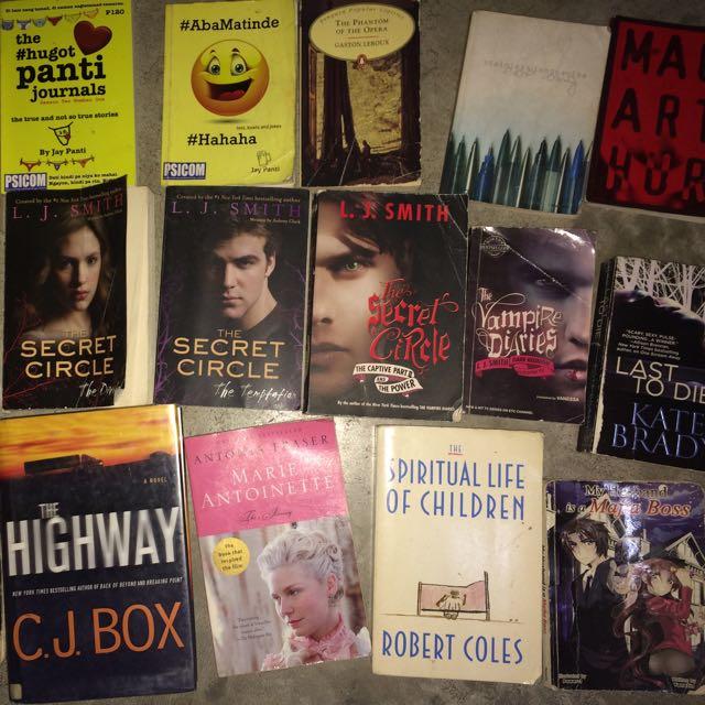 Books( Different Genre)
