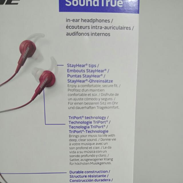 Bose SoundTrue Earphone
