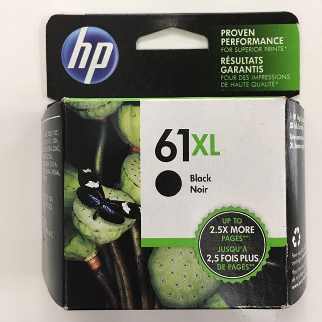 Brand new, in the box HP 61XL (CH563WN) OEM High Yield Black Ink Cartridge!!