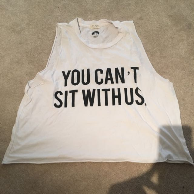 Brandy Melville mean girls quote tank top