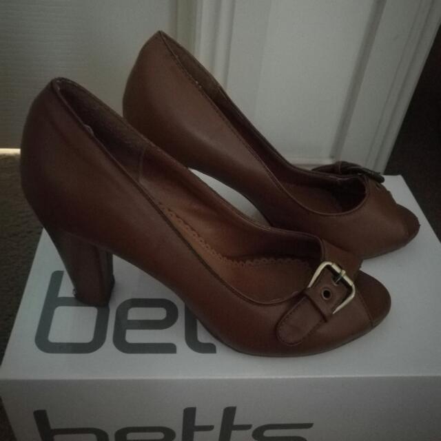Buckled High Heels