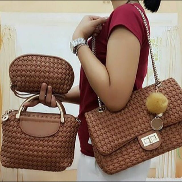 Charles & Keith 3 In 1