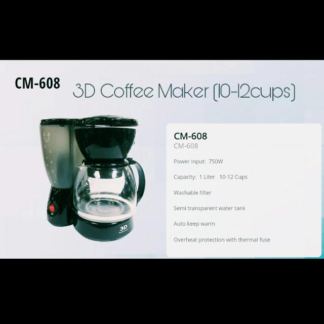Bargain: New Coffee Maker