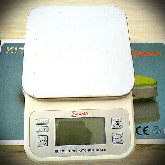 Digital 500 gram, 1, 3, 6 kg