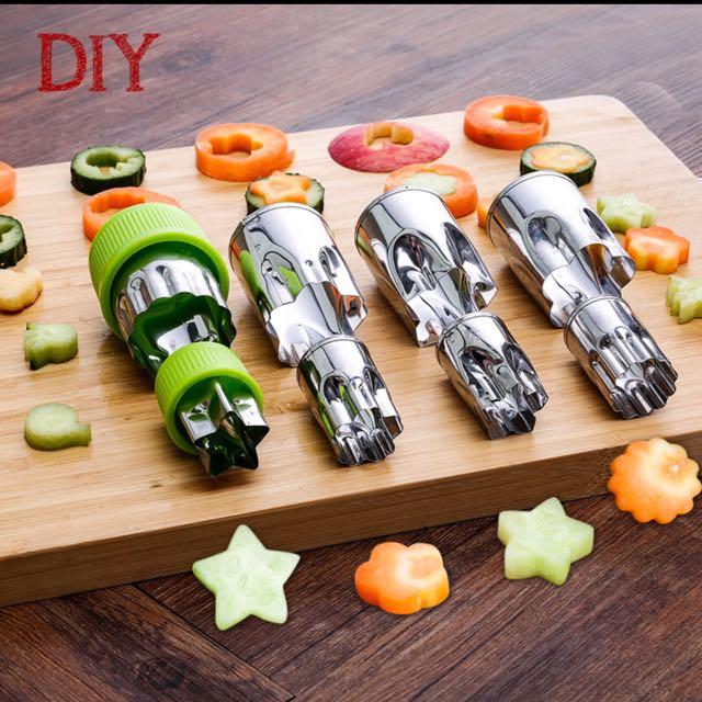 Diy蔬果點心切割模具