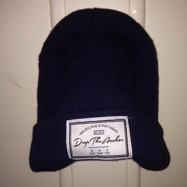 Drop The Anchor beanie