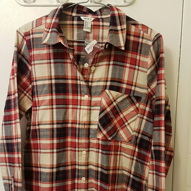 Forever 21 Plaid Shirt