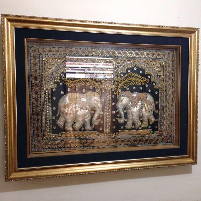 Gajah Thailand Hiasan Payet