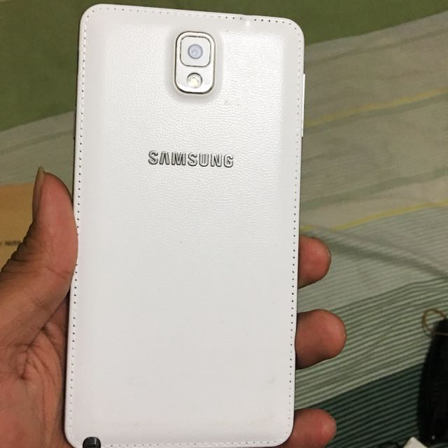 Galaxy Note 3 White Mulussss