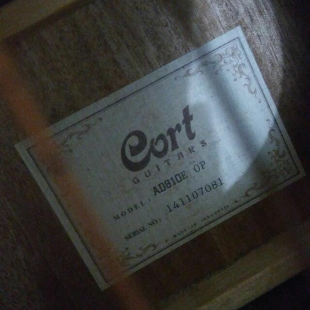 Gitar Cort AD810E OP