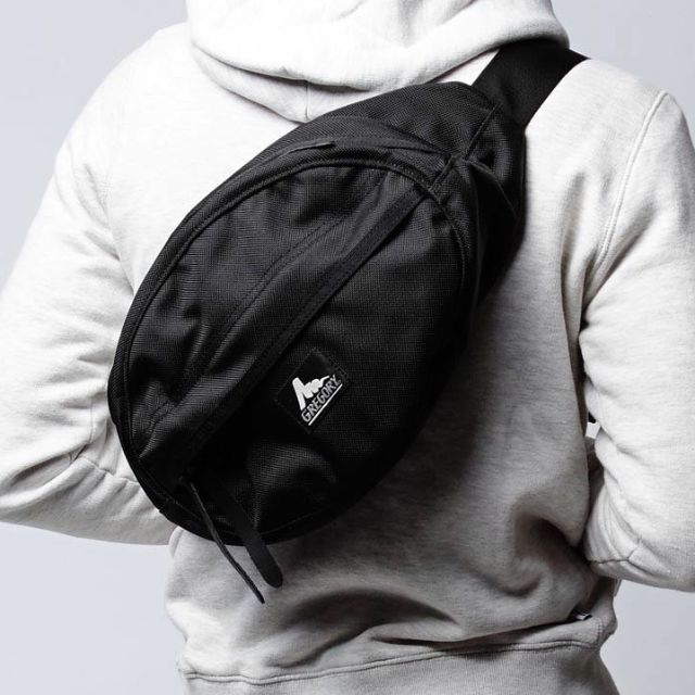 GREGORY WAIST BAG BLACK