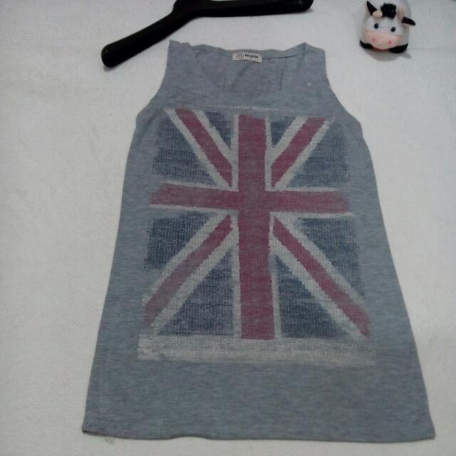 Grey US Shirt