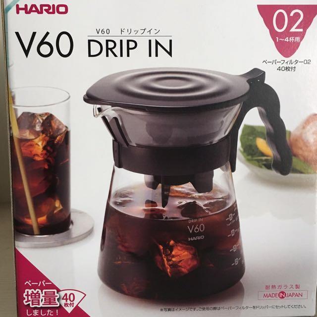 【HARIO】V60冷熱兩用咖啡壺