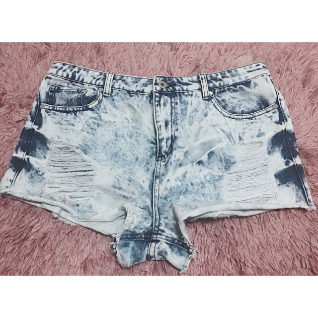 Highwaist Shorts (Tattered)