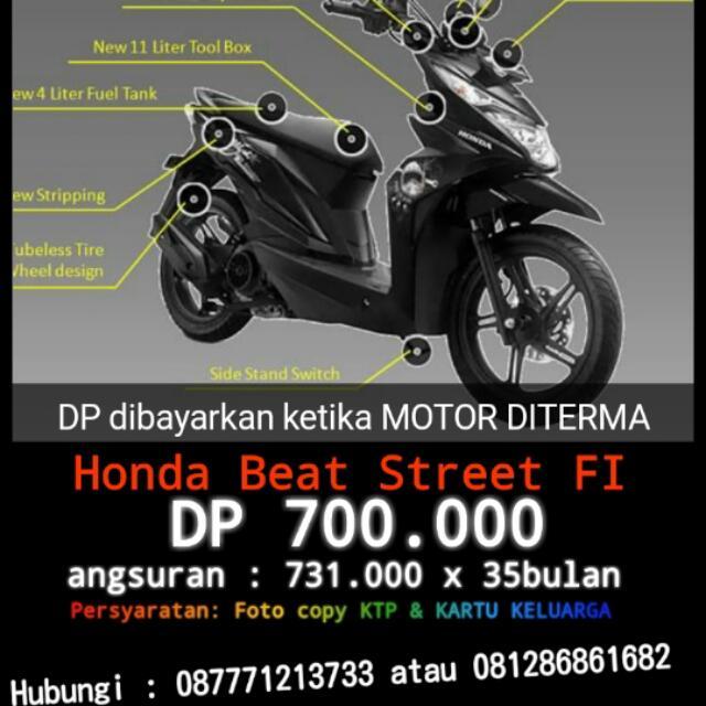 Honda Beat Street Fi Motorbikes On Carousell