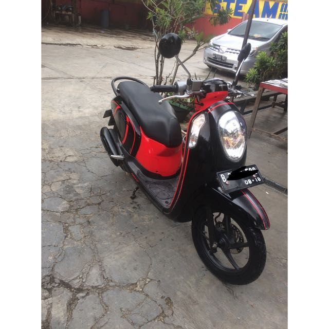 Honda Scoopy Th 2013