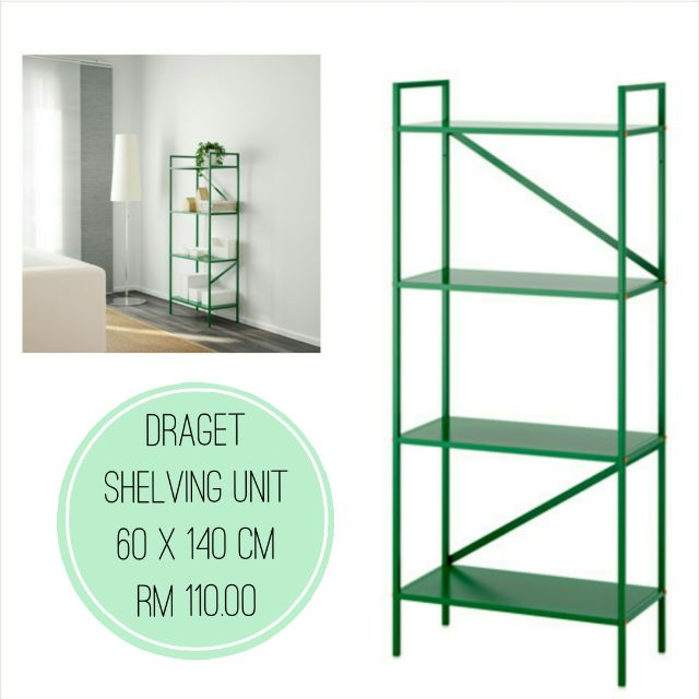 IKEA - DRAGET Sheving Unit