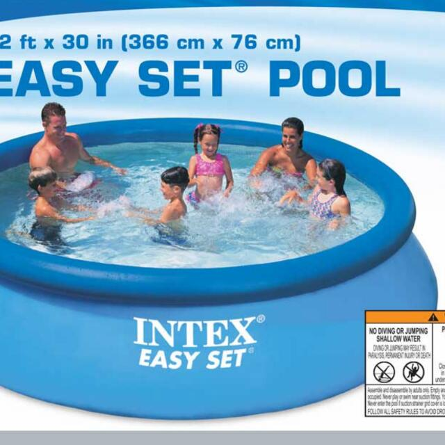 Intex Easy Set 12 ft x 30 inches Swimming Pool