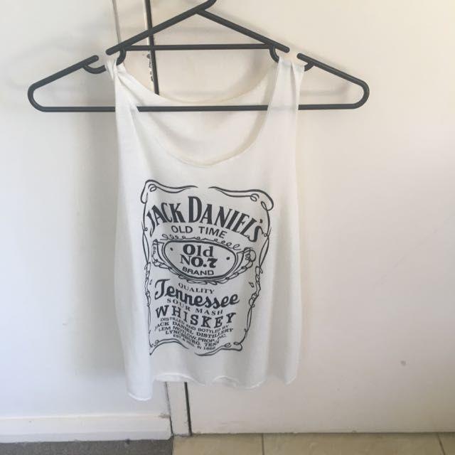 Jack Daniels S/M /Singlet
