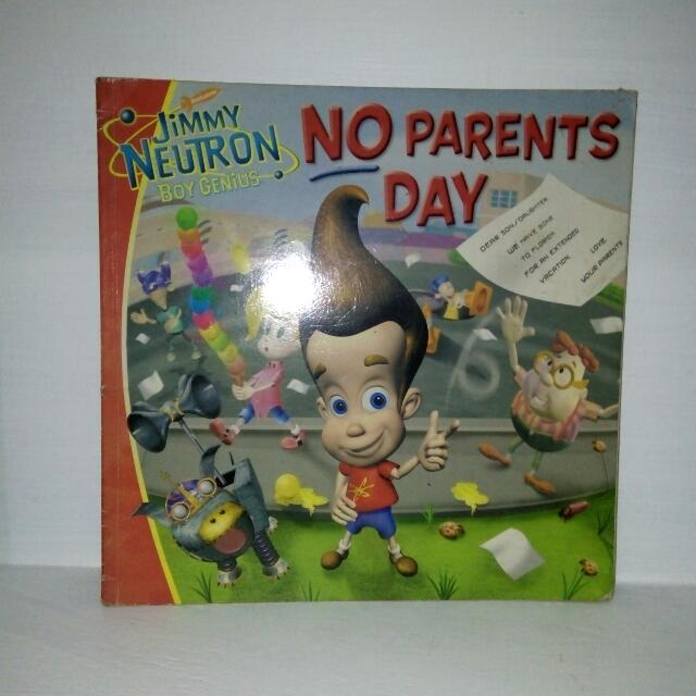 Jimmy Neutron No Parents Day