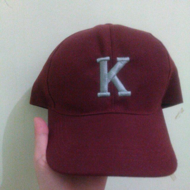 K Baseball Cap