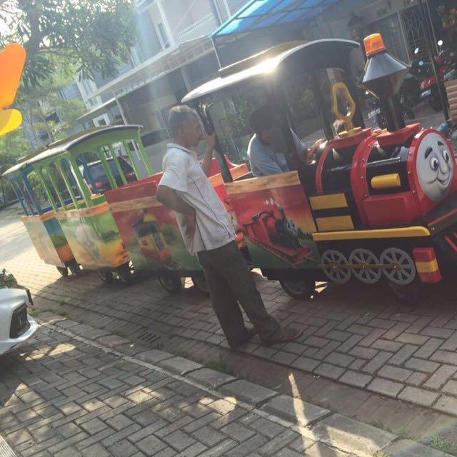 Kereta Thomas Siap Untuk Bisnis Kamu
