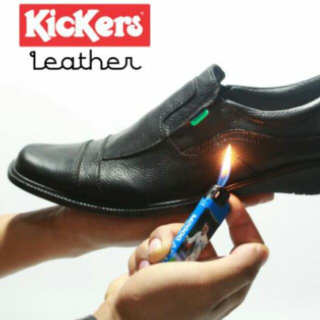 Kickers Pantopel Leather Fesyen Pria Sepatu Di Carousell