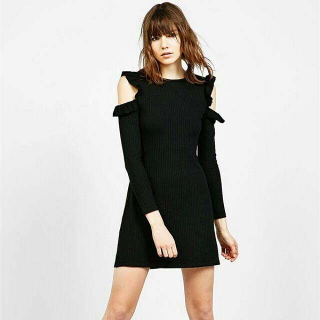 Knitted Little Black Dress