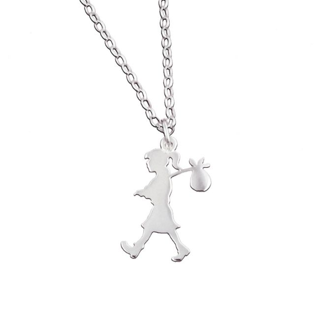 KW runaway knecklace (large pendant)