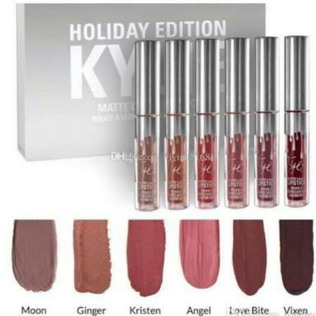 Kylie 1set Holiday Edition Lipstick