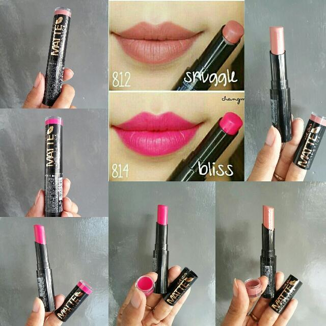 LA Girl Matte Flat Velvet Lipstick BLISS & SNUGGLE