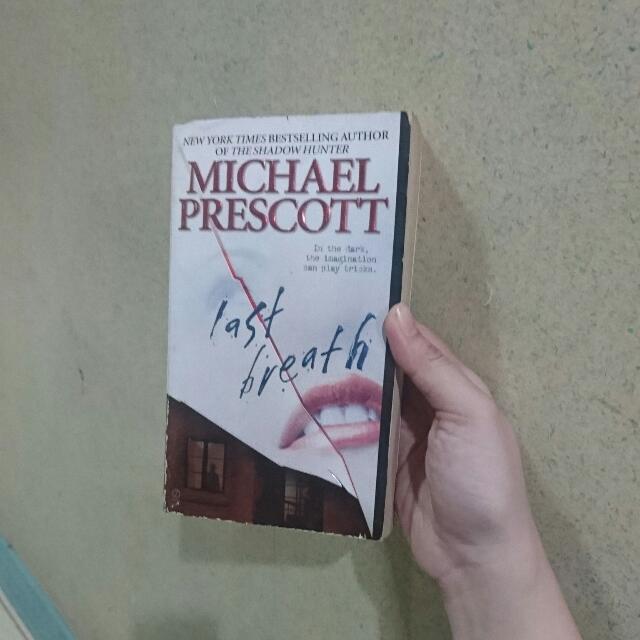 Last Breath (by Michael Scott)