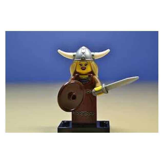Lego viking woman series 7 unopened new factory sealed