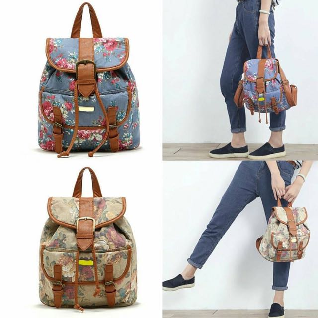 LILY QUEEN Floral Backpack
