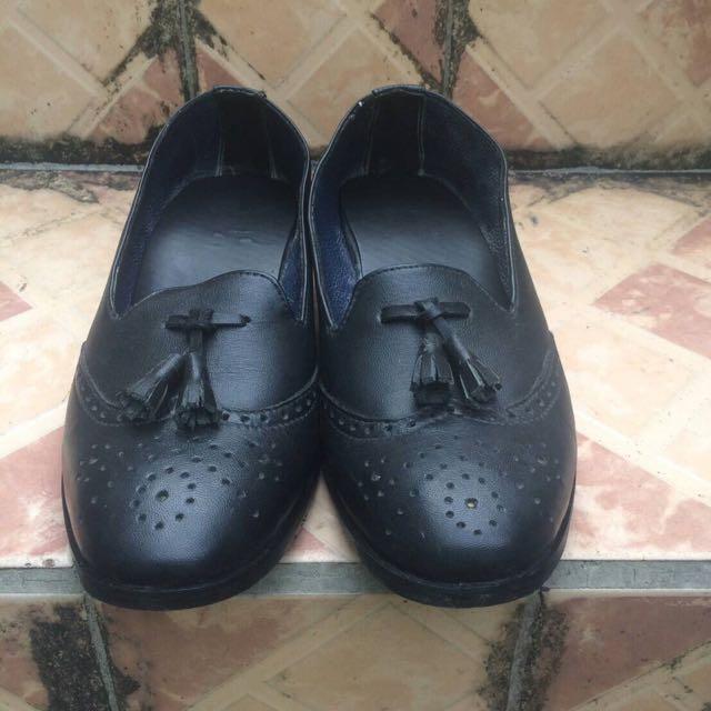 Loafer Wingtip Black (Not portegoods)