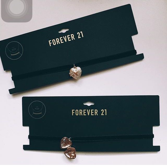 Forever 21 Love Pandora Chocker