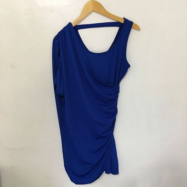 MALDITA Royal Blue Dress