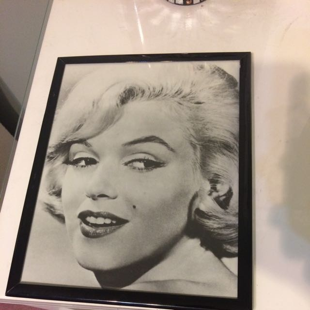 Marilyn Monroe Vintage Picture With Frame