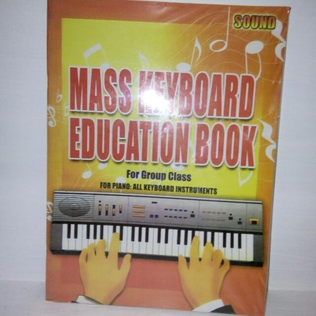 Mass Keyboard Education Book