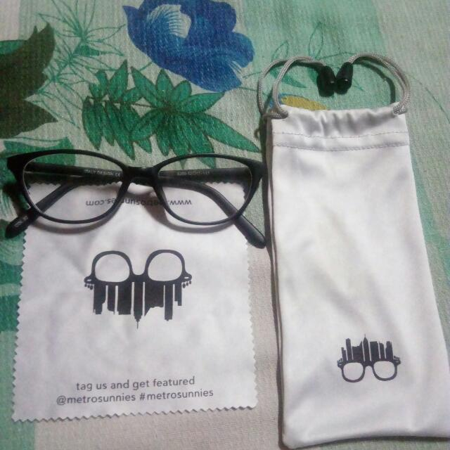 Metro Sunnies Eyeglass Replaceable Lens