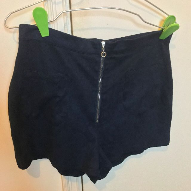 missguided suede shorts