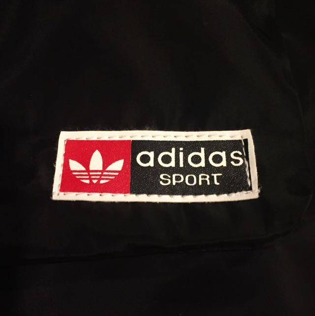 NEW ADIDAS Black Drawstring Backpack Athletic Sports bag Cute