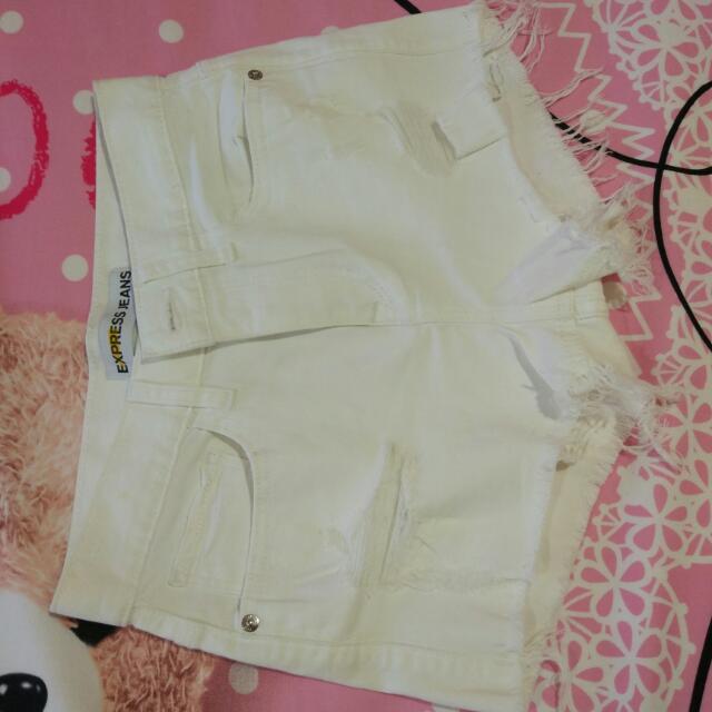 New Hotpant White Size 28
